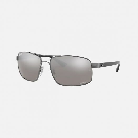 Ray-Ban CHROMANCE 寶麗萊 太陽眼鏡 SRB-3604CH 槍色框/灰色鏡 RB3604CH 004/5J 62-15