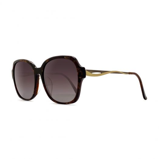SOLVIL ET TITUS Stylish Sunglasses STS-1901-Brown Frame With Gray Lens