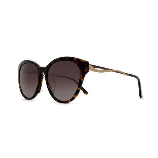 SOLVIL ET TITUS Stylish Sunglasses STS-1902-Tortoiseshell Frame With Gray Lens