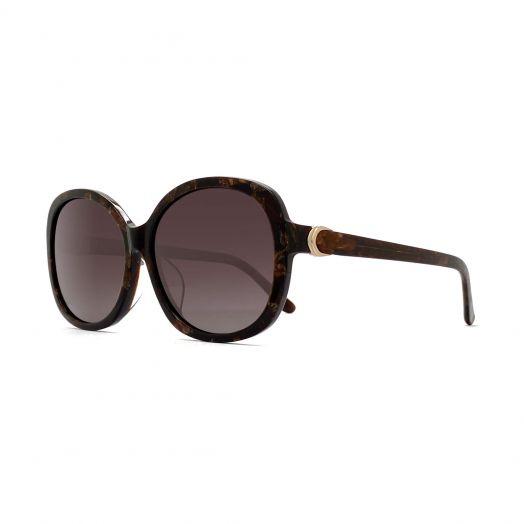 SOLVIL ET TITUS Stylish Sunglasses STS-1904-Brown Tortoiseshell Frame With Brown Lens