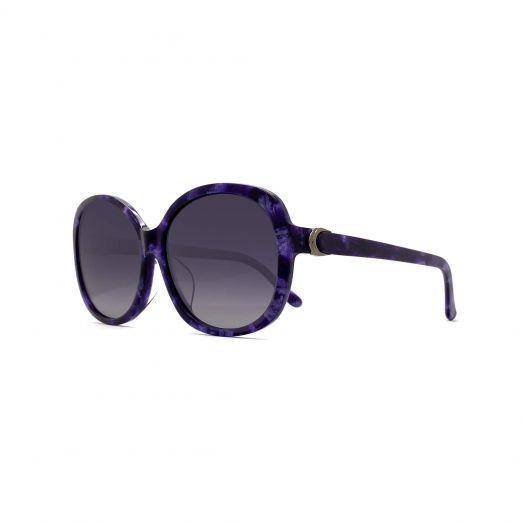 SOLVIL ET TITUS Stylish Sunglasses STS-1904-Purple Tortoiseshell Frame With Gray Lens