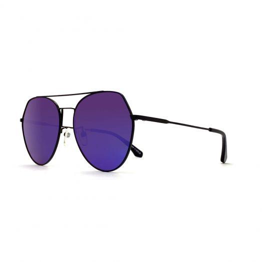 SOLVIL ET TITUS Stylish Sunglasses STS-1911-Black Frame With Green Lens