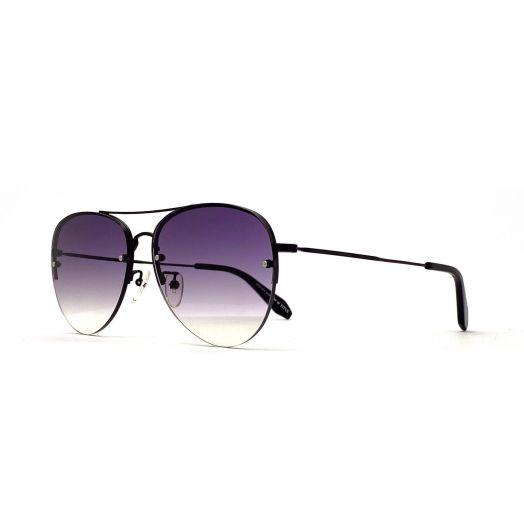 SOLVIL ET TITUS Stylish Sunglasses STS-1914-Black Frame With Purple Lens