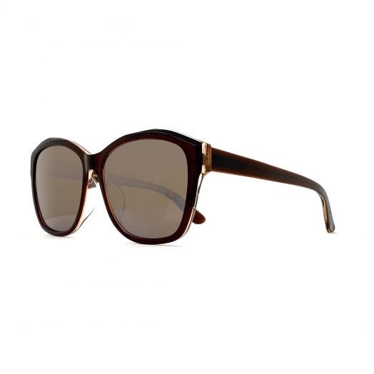 SOLVIL ET TITUS Stylish Sunglasses STS-1915-Brown Frame With Gray Lens