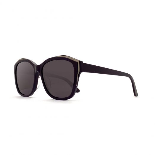 SOLVIL ET TITUS Stylish Sunglasses STS-1915-Purple Frame With Gray Lens