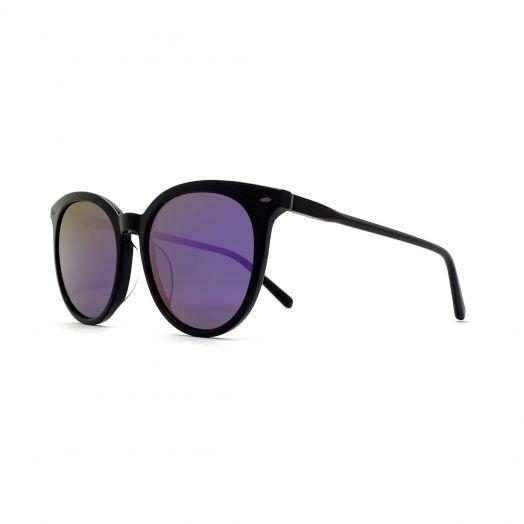 SOLVIL ET TITUS Stylish Sunglasses STS-1918-Black Frame With Blue Lens