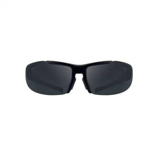 【韓國製】WING可換式運動太陽眼鏡(灰色寶麗萊+藍色水銀鏡片)