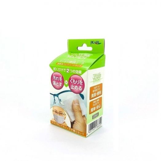 日本製PEARL防霧清潔濕紙巾 (20片裝)